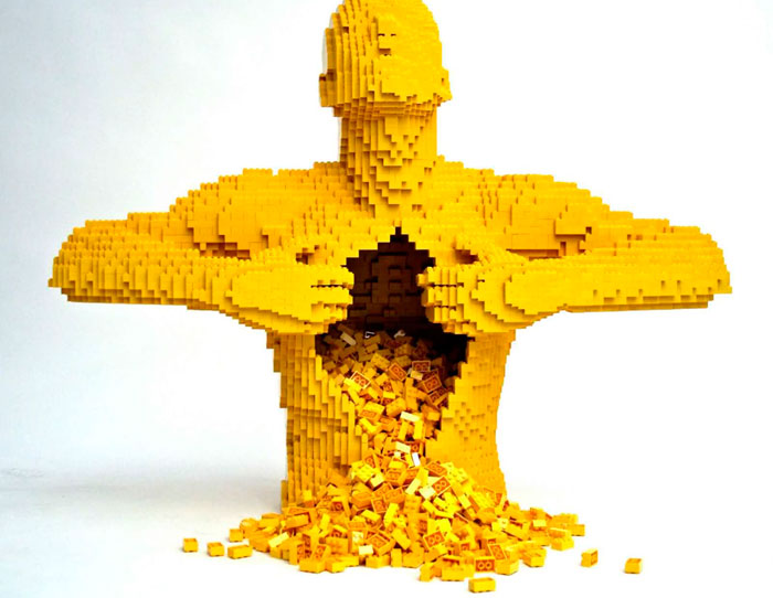 Yellow - from LEGO Artist, Nathan Sawaya